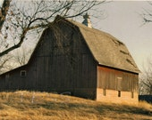Beautiful Old Barn Photo - 8x 10 Photography - Landscape - Matted And Ready To Frame