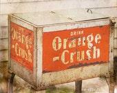 Orange Crush Photo -  Vintage Pop Cooler - Vintage Photography