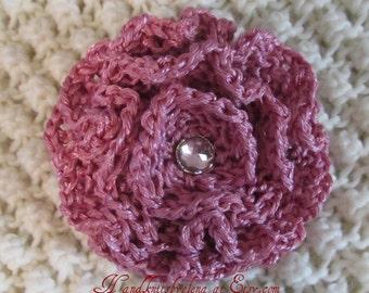 Knitting Pattern #26 Rose