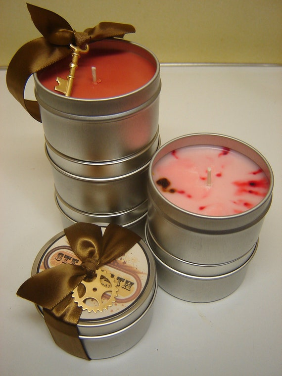 CARNIVAL scented ECO Soy Candle, 4oz - cotton candy, tart lemon drops, sweet raspberries
