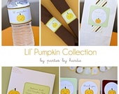 Pumpkin Party/Baby Shower-Printable PDF file with EDITABLE TEXT