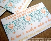 In My Pants Courtesy Cards-Set of 10