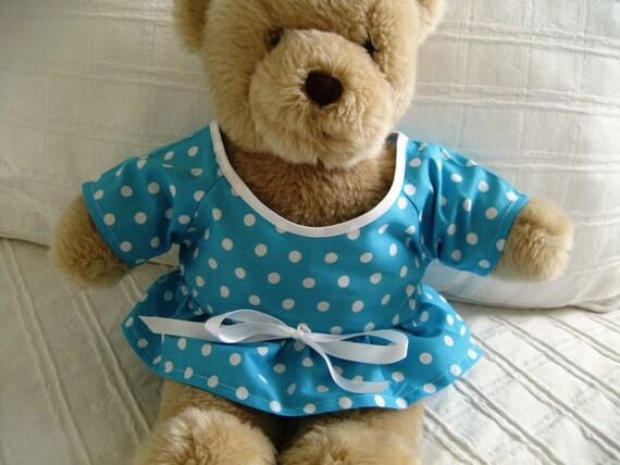 Teddy Bear Clothes, Cotton Miranda Dress