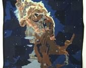 Jet in the Carina Nebula