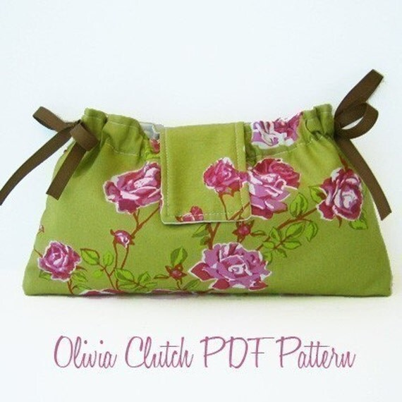 Olivia Clutch PDF Sewing Pattern and Tutorial