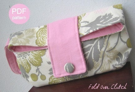 Fold Over Clutch Sewing Pattern – Ali Foster Patterns