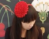 Red Garden Party Headband