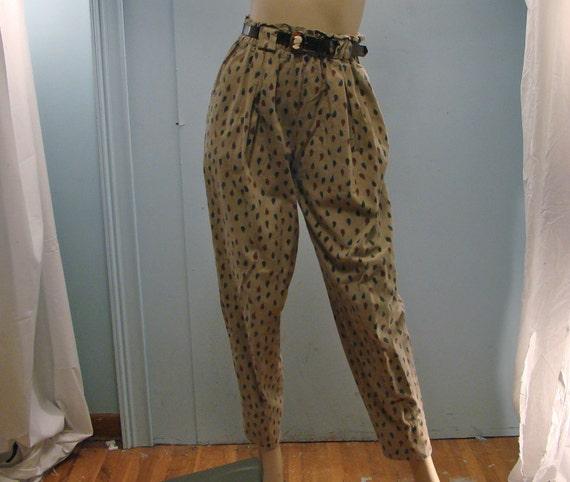 Paisley Harem Pants- 1990's