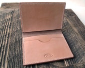 Handmade HOLMES Passport and Document Wallet / Case