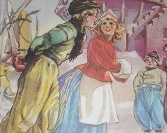Hans Brinker or the Silver Skates 1945 copyright hardcover