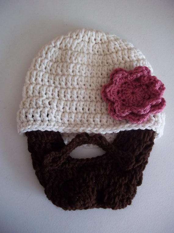 Lumberjack First Birthday, Lumberjack Party Supplies, Lumberjack Baby, Silly Funny Father's Day Gift, Baby Girl Beard, Baby Girl Beard Hat