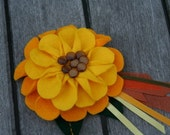 brooch Zonnebloem (sunflower)