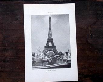 Paris Photos, Four Antique Prints, 1907