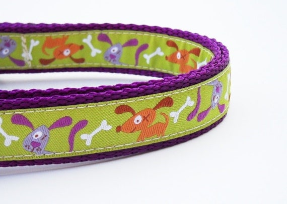 Dog Gone Cute - Dog Collar / Adjustable / Handmade / Pet Accessories