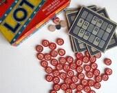 Fun with Ephemera Lotto Game 1936 Milton Bradley