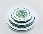 Noritake Palos Verde 70s Dishes Plates set of seven