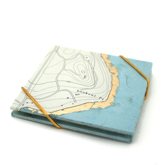 Lookout Point Nautical Map - Expanding Concertina Book