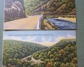 Lot of 2 Vintage Linen Textured Postcards, Torrington, Connecticut