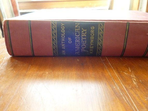 Treasury Item - An Anthology of American Poetry, 1630-1941, ed. Alfred Kreymborg, 1941