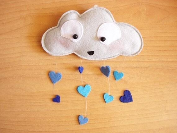 Blullaby -Rain Cloud Mobile-