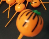 12 Pumpkin Cupcake Picks