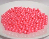 Edible Pearl Pink Sugar Candy Beads