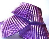 150 Purple Foil Cupcake Liners