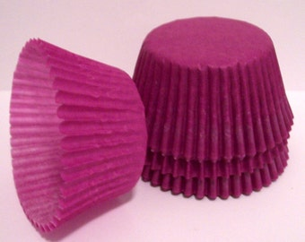 Purple Cupcake Liners- Choose Set of 50 or 100