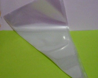 "5 Disposable Pastry Bags 18"" for Cupcake Decorating"