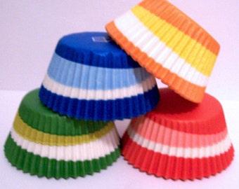 60 Swirl Cupcake Liner Assortment
