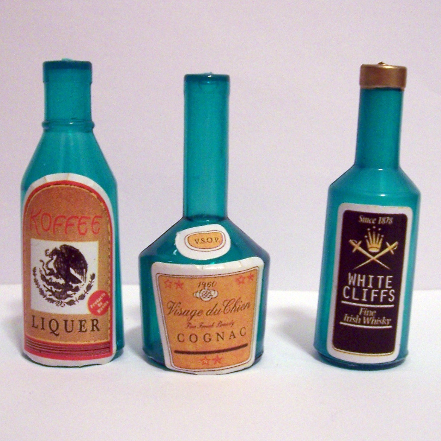 liquor bottle cake decorations