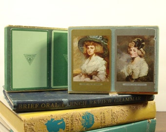 Congress Playing Cards - Vintage - Boxed Bridge Set of Playing Cards - Two Sets of Cards - 4 Decks