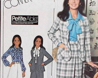 McCall's Pattern 5924 - Vintage UNCUT - Marlo Thomas Misses' Unlined Jacket, Skirt, and Pants