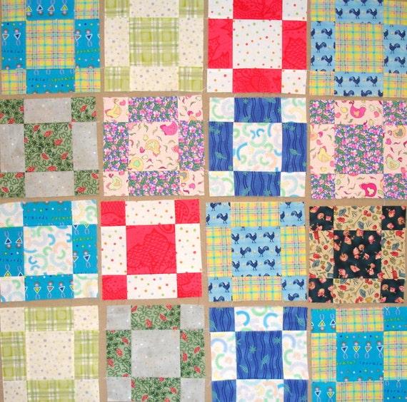 9 Patch  Quilt Blocks