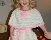 2T to 5T Capelet  and Skirt Pdf Pattern 117