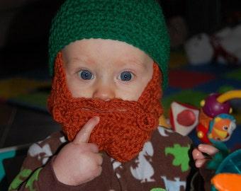 Made Upon Ordering Baby Beard Beanie