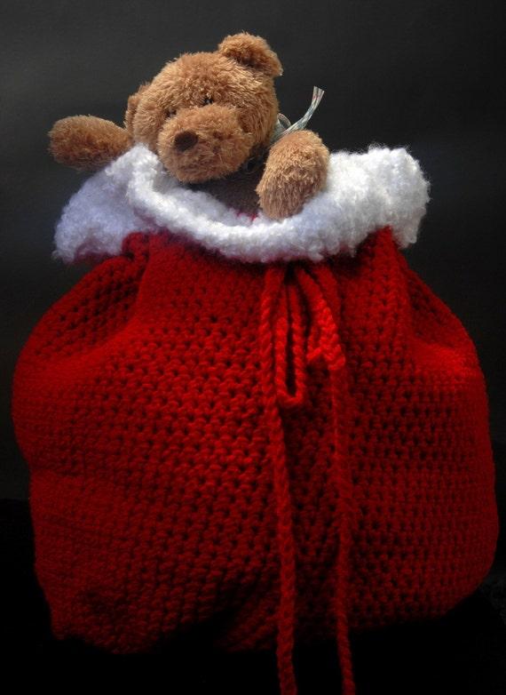 Santa S Bag Of Toys : Items similar to santa s toy bag pdf pattern on etsy