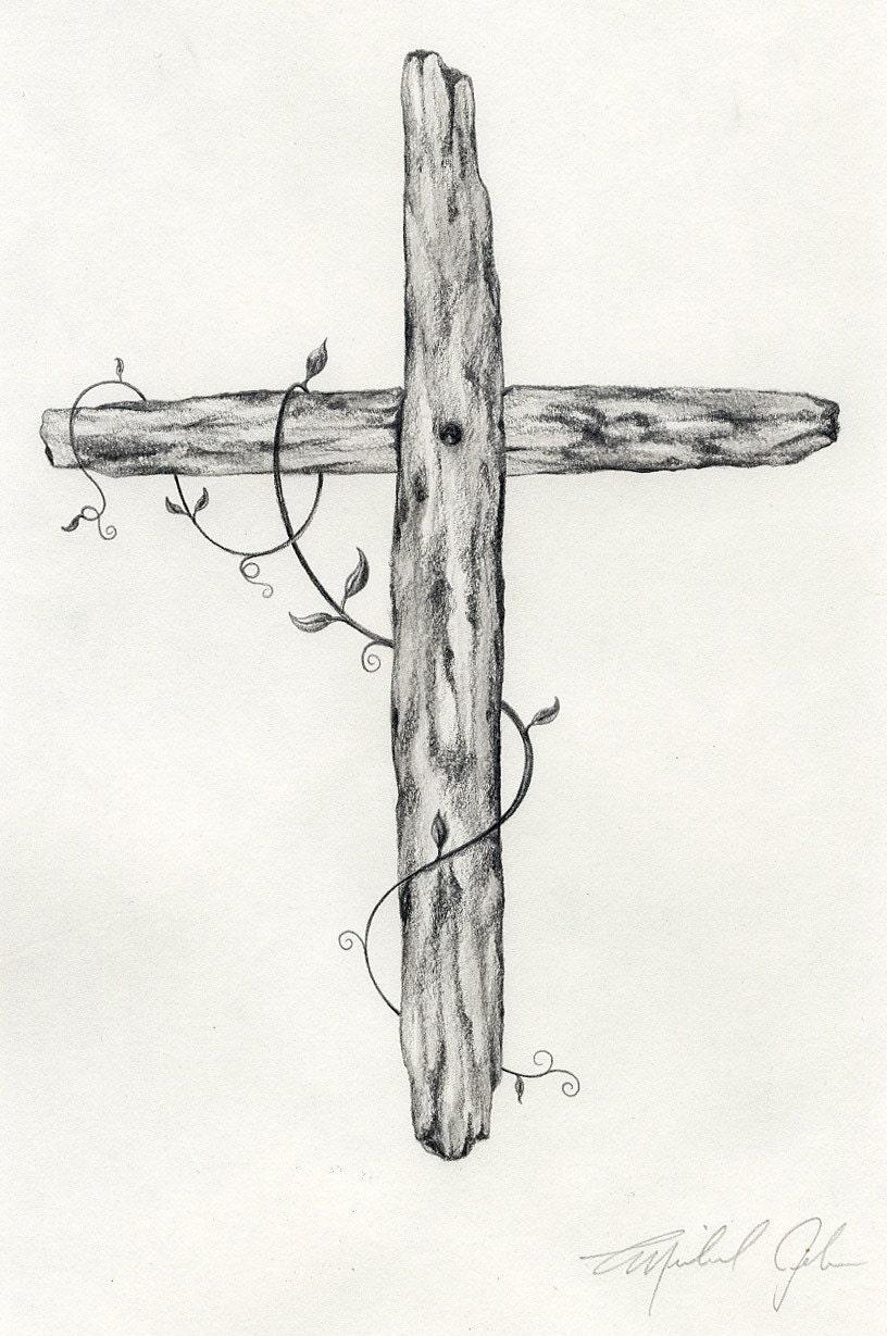 Cross original drawing