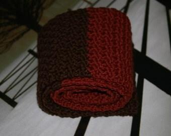 rusty brown/rusty orange  scarf