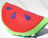 Red Watermelon Pillow