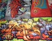 Graffiti Art Table- Orange