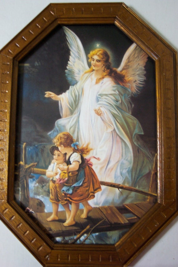 Guardian Angel Picture - Boy and Girl on a Bridge