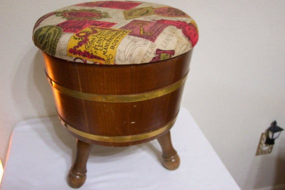 Sewing Sewing Stool Sewing Basket Foot Stool Early