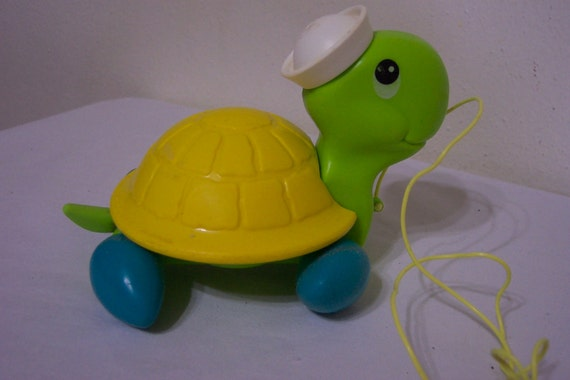 Pull Toy Turtle Fisher Price