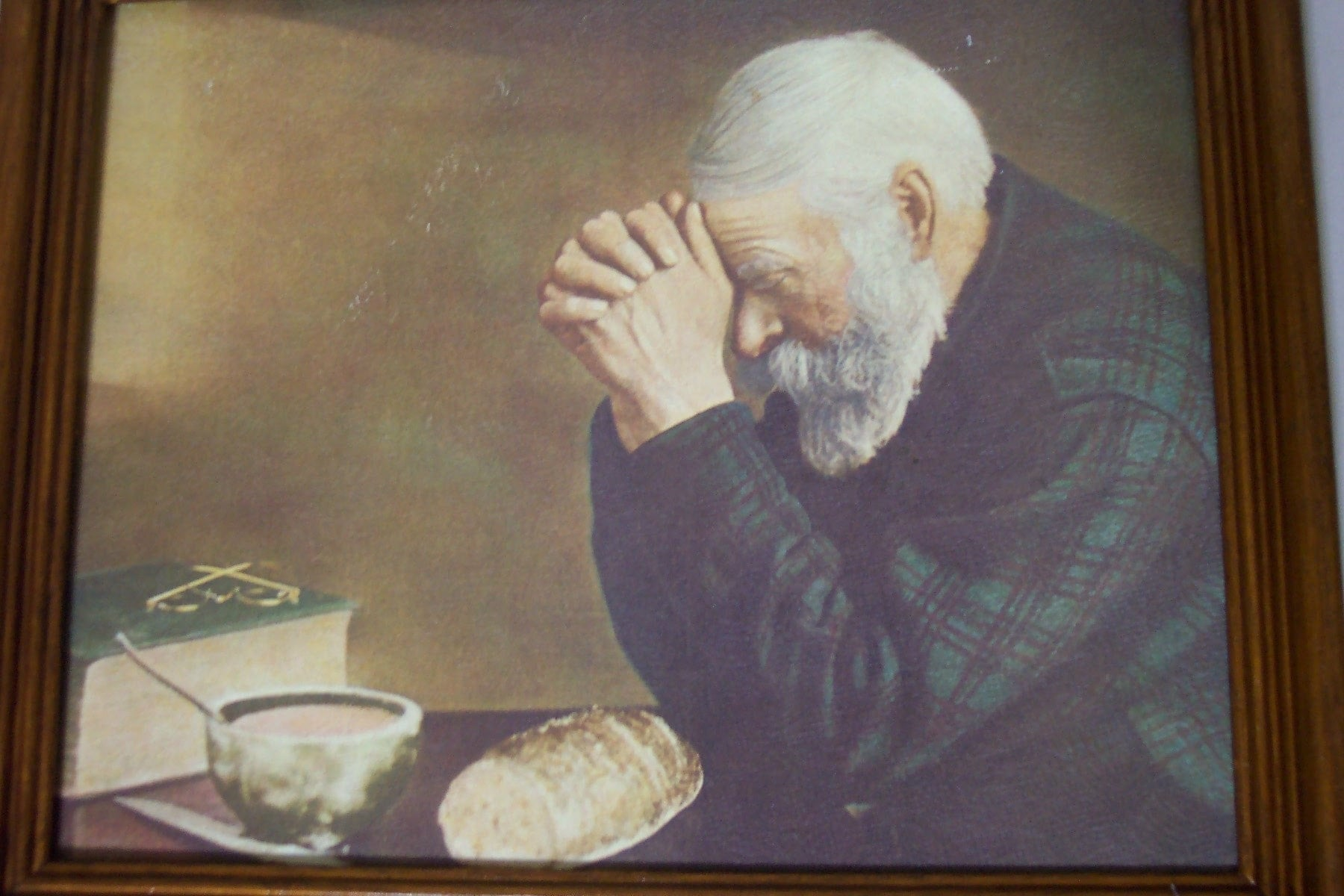 Grace And Gratitude Pictures Old Man And Old Woman Praying