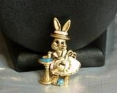 Danecraft Enamel Rabbit Gardener-Sale