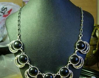 """Sarah Coventry"""" Bold and Beautiful"""" Necklace 1958-1965 -Sale"""