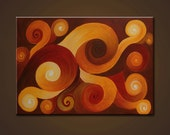 """Abstract Painting. Original Contemporary Modern Painting. """"PROGRESS"""". Free Shipping inside US."""