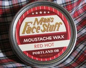 Red Hot Cinnamon and Bay Moustache Wax