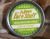 Gin and Tonic Moustache Wax